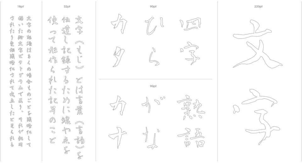 Aoyagi Soseki Stencil Outline