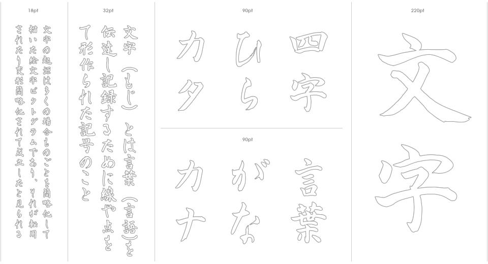 Nagayama Kai Stencil Outline